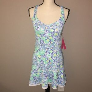 NWT Lilly Pulitzer Floral Tennis Dress Sizes XS,M